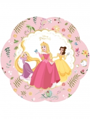 4 Assiettes en carton premium Princesses Disney™ 26 cm