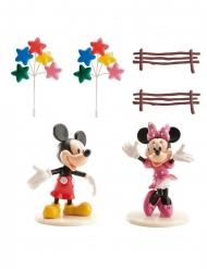 Kit de décorations de gâteau Mickey et Minnie™