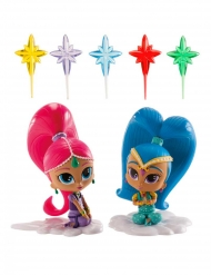 Kit de décoration Shimmer and Shine™ 8 cm 7 éléments