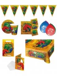Pack de fête anniversaire Dinosaures 8 pièces