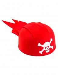 Bandana de Pirate rouge enfant