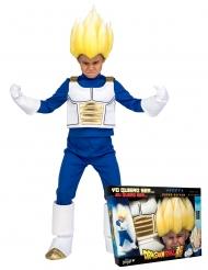 Coffret déguisement Super Saiyan Vegeta Dragon Ball™ enfant avec perruque