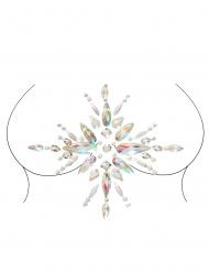 Bijoux pour corps adhésifs motifs soleil adulte