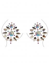Bijoux pour décolleté et corps motifs géométriques adulte