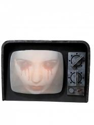 TV hantée lumineuse et sonore 12 x 31 x 21 cm