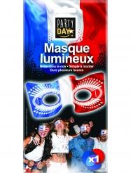 Masque phosphorescent tricolore France
