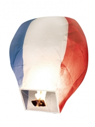 Lanterne volante tricolore France 50 x 90 cm