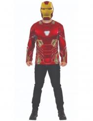 T-shirt et masque Iron man Infinity War™ adulte