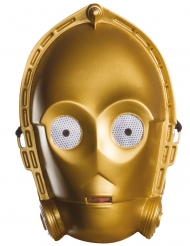Masque en vacuforme C-3PO Star Wars™ adulte
