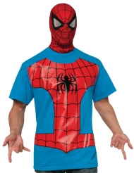 T-shirt avec cagoule Spiderman™ adulte