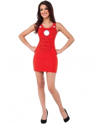 Déguisement robe rouge Iron Man™ femme
