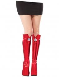 Dessus de bottes Captain America™ femme