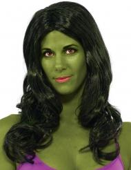Perruque Hulk™ femme