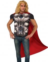Poitrine musclée et cape Thor™ adulte