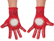 Gants rouges Iron man™ adulte