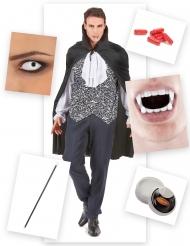 Pack déguisement vampire sanglant homme