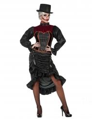Déguisement vampire du XVIII ème siècle femme