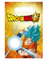 6 Sacs de fête Dragon Ball Super™ 23 X 16 cm