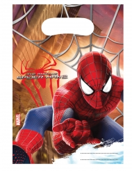 6 Sacs de fête The Amazing Spider-man™ 17 X 23 cm