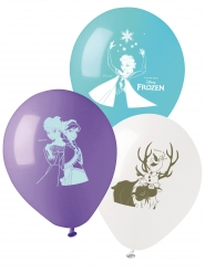 10 Ballons en latex La Reine des Neiges™ 28 cm