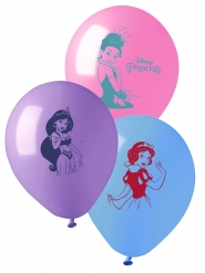10 Ballons en latex Princesses Disney™ 28 cm