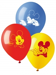 10 Ballons en latex Mickey™ 28 cm