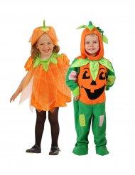 Déguisement couple citrouille enfant Halloween