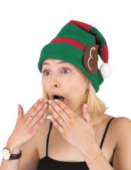 Bonnet en laine elfe adulte