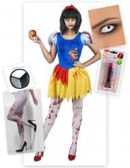 Pack déguisement princesse empoisonnée Halloween