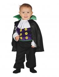 Déguisement combinaison petit comte vampire bébé