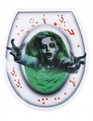 Sticker pour WC fantôme femme 28 x 32 cm