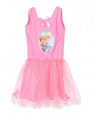 Robe tutu rose La Reine des Neiges™ fille