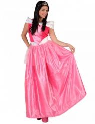 Déguisement princesse rose femme