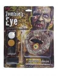 Maquillage oeil de zombie adulte