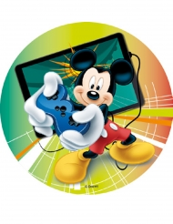 Disque en amidon Mickey Mouse & Friends™ 18,5 cm