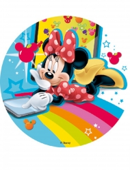 Disque en amidon Minnie Mouse & Friends™ 18,5 cm