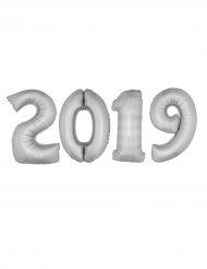 Pack ballons géants 2019 aluminium argent