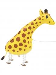 Ballon métallique girafe marchante 86,3 cm