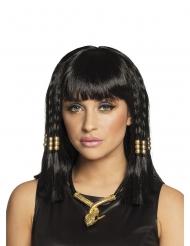 Perruque courte egypte noire femme