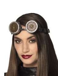 Lunette rosaces adulte Steampunk