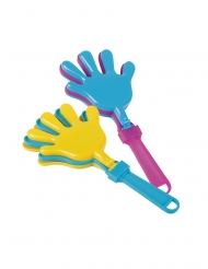 Accessoires piñata claps mains 6 x 13 cm