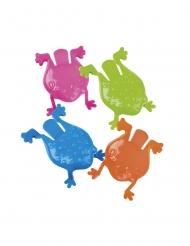 Accessoires piñata grenouilles sauteuses 6 x 8,5 cm