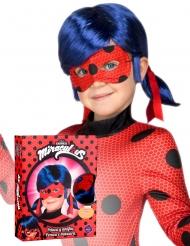 Coffret perruque et masque Ladybug™ enfant