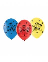 6 Ballons latex Pat
