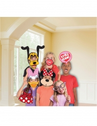 Kit photobooth Minnie Mouse™ 12 accessoires