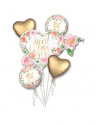 Bouquet ballons aluminium Sweet Baby Girl