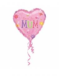 Ballon aluminium Love You Mum