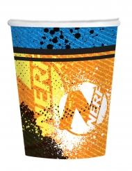8 Gobelets en carton Nerf™ 250 ml