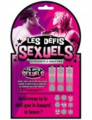 Jeu à gratter Les Défis Sexuels adulte