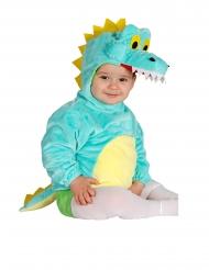 Déguisement tunique avec capuche crocodile bébé